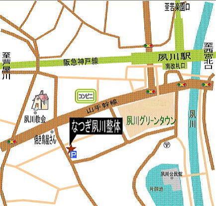 道案内地図