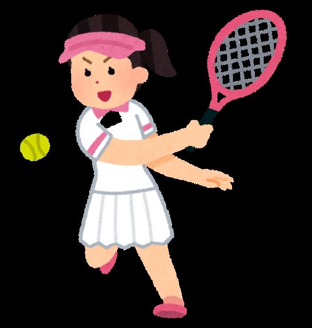 テニス肘の女性