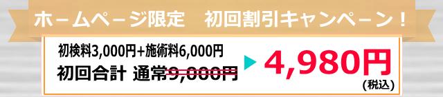 4980円オファー